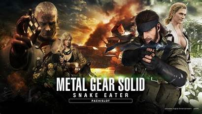 Gear Solid Metal Snake Pachinko Mgs3 Eater