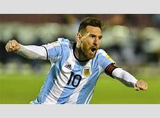 Messi Magic Ensures Argentina World Cup Berth