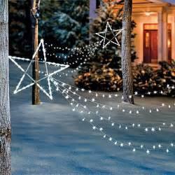 led shooting star light set christmas holiday outdoor yard art decora