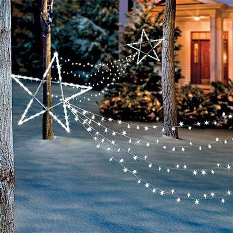 led shooting star light set christmas holiday outdoor yard