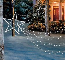 hd wallpapers shooting star christmas lights outdoor