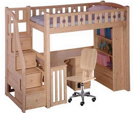 size metal loft bed with desk bunk beds with desk underneath with stairs and drawers