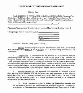 sample independent contractor agreement 19 documents in With 1099 contractor agreement template