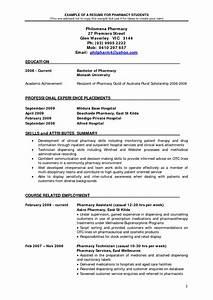 Example Pharmacist Resume