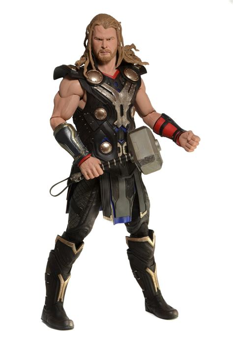 the avengers dark world thor 1 4 scale action figure