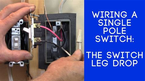 Wiring A Switch Leg by How To Wire A Light Switch The Switch Leg Loop Drop