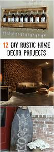 12, Diy, Rustic, Home, Decor, Projects, For, All, Rustic, Design