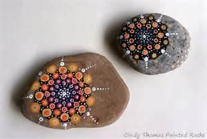 Dot Mandala Painting On Rocks