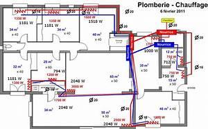 calcul radiateur page 1 les radiateurs plombiers reunis With realiser plan de maison 1 plan de plomberie