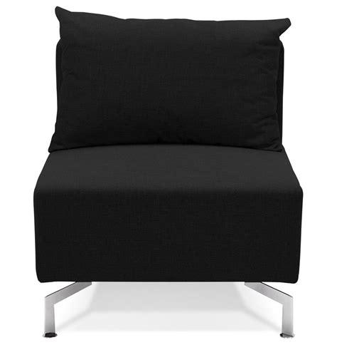 canapé voltaire 3 places élément 1 place voltaire seat noir canapé modulable