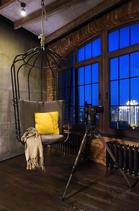 Loft Industrial Style by Industrial Style Loft In Kiev Artfully Blends Drama And Light