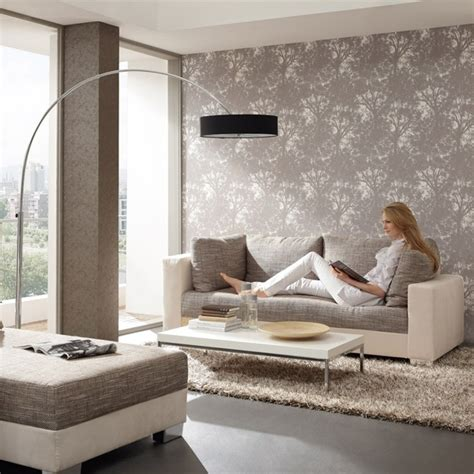 Window Living Room by 15 Living Room Wallpaper Ideas Types And Styles Of