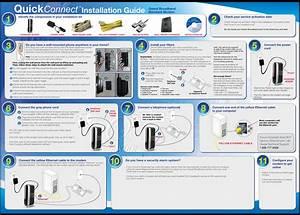 Actiontec M1000 Broadband Modem Manual Installation Guide