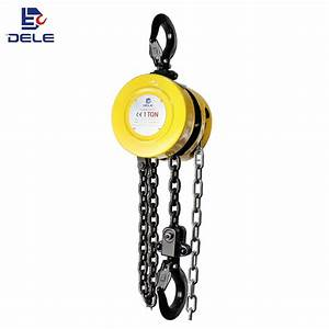 China Compact Size Design Sk 1ton Manual Hand Chain Pulley