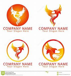 Stock Image: Fire Phoenix Concept Logo. Image: 57667501