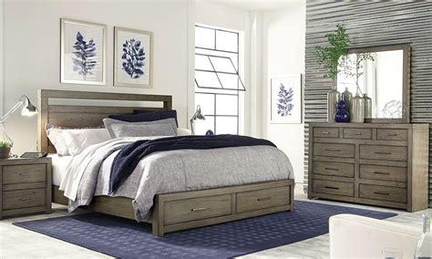 aspenhome modern loft queen storage bedroom haynes furniture