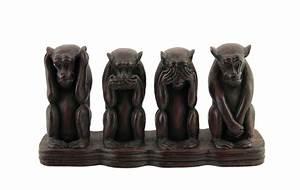 Statue Singe De La Sagesse : les 3 singes de la sagesse de peterandclo mizaru kikazaru ~ Teatrodelosmanantiales.com Idées de Décoration