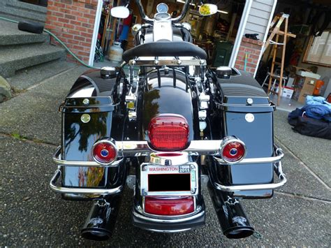 pre  road king style license plategrab bar   ultra