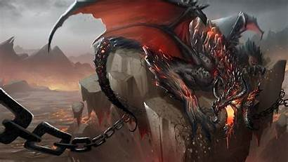 Dragon 1080p Chains Jaws Shatter Stone