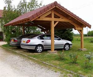 Abri Voiture En Bois : abri de jardin plan de campagne ~ Nature-et-papiers.com Idées de Décoration