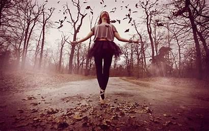 Ballerina Dancing Autumn Wallpapers Dance Ballerinas Ballet
