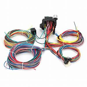 21 Circuit Wiring Harness Street Rat Hot Rod Chevy Ford