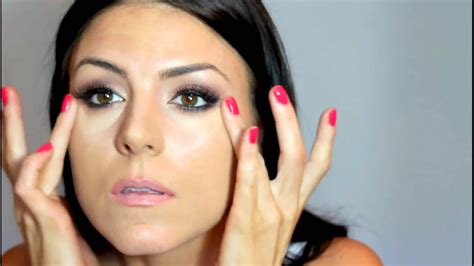 soft sultry smokey makeup brunette beauty blogger youtube