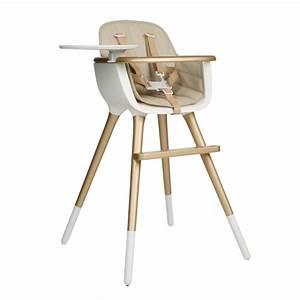 Chaise Haute Bébé Design : coussin chaise haute ovo beige beige micuna design b b ~ Teatrodelosmanantiales.com Idées de Décoration