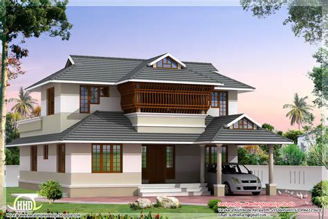 style house plans august 2012 kerala home design and floor plans