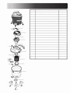 Shop-vac 90l Series 90l400 User U0026 39 S Manual