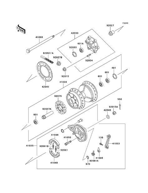 Kawasaki Parts Diagrams by Kawasaki Klr250 Kawasaki Klr250 Parts Diagrams
