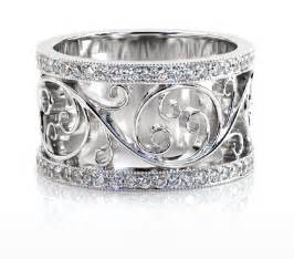 filigree wedding band jewelers unique wedding bands unique wedding rings