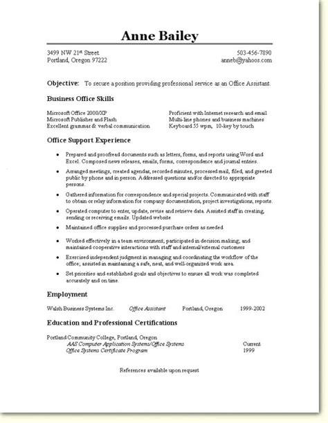 office resume templates office assistant resume template musiccityspiritsandcocktail