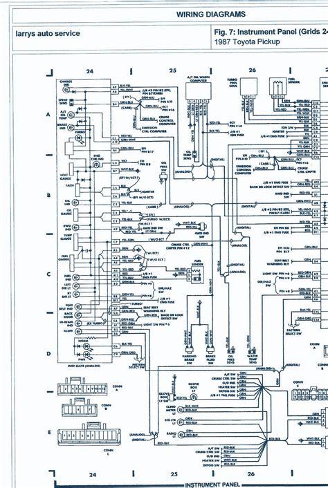 1986 Toyotum 4x4 Wiring Harnes by 1987 Toyota 4wd 22r Engine Wiring Diagram Auto