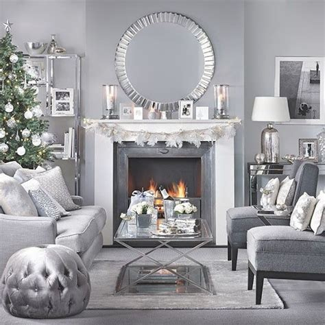 Decorating Ideas Grey Living Room by Silver And Grey Living Room Living