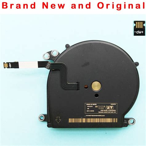 new cpu fan for apple macbook air a1370 mc503 mc504 mc505 mc506 cooling fan cooler mg50050v1