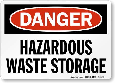 Hazardous Storage Area Signs Mysafetysigncom