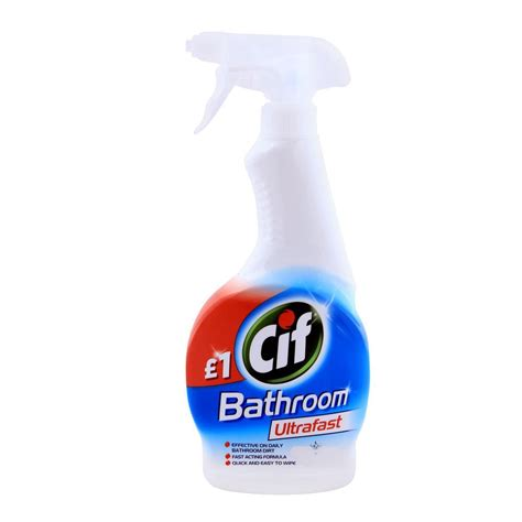 Buy Cif Bathroom Ultrafast Trigger 450ml Online At Special