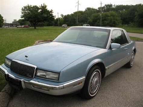 Buick Riviera 1989 by 1989 Buick Riviera Overview Cargurus