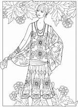 Coloring Creative Dover Adult Haven Jazz Age Publications Fashions Adults Colouring Doverpublications Printable Sun Sheets Patterns Girly Flappers Luxury Fashioned sketch template
