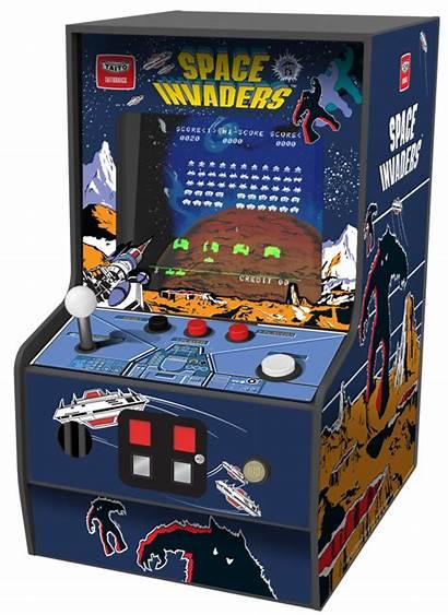 Invaders Arcade Space Player Micro Retro Myarcade