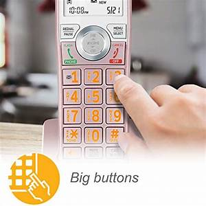 At U0026t Cl82257 Dect 6 0 Expandable Cordless Phone With