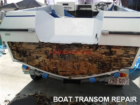 Flat Bottom Boat Transom Repair by Plywood Jon Boat Plans Free