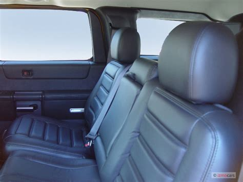 2005 Hummer H2 4-door Wagon Suv Rear Seats, Size