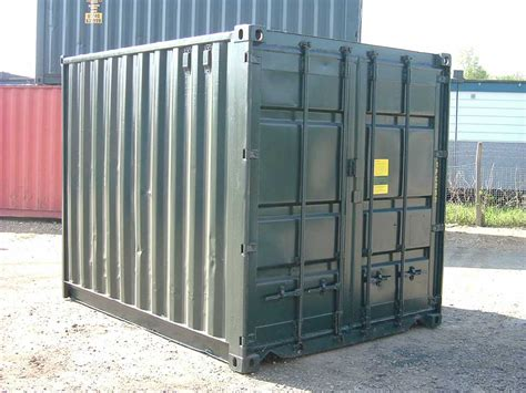 10ft Refurbishedused Shipping Container For Uk Sale