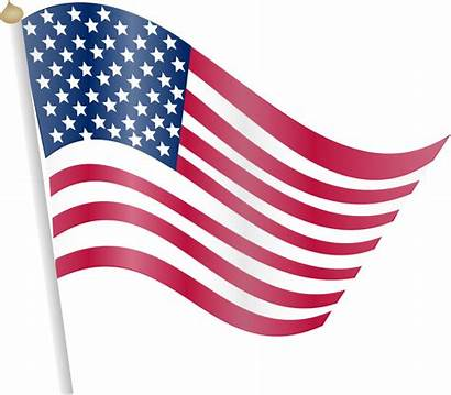 American Flag Clipart Clip Flowing Clipground Domain