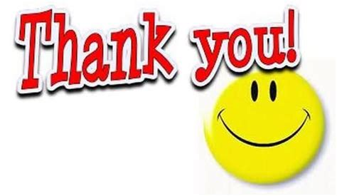 Thank You Smiley Animated Thank You Smiley Graphic For