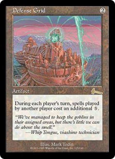 defense grid urzas legacy gatherer magic  gathering
