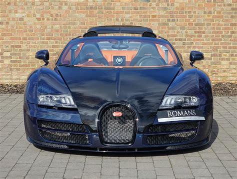Blue Carbon Bugatti Veyron Gs Vitesse For Sale At £