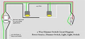 Two Way Dimmer Switch Wiring Diagram